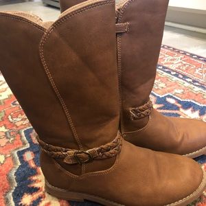 Hanna Andersson girls boots size 3.